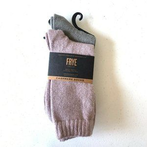 NEW Frye Cashmere 2 Pairs Boot Socks
